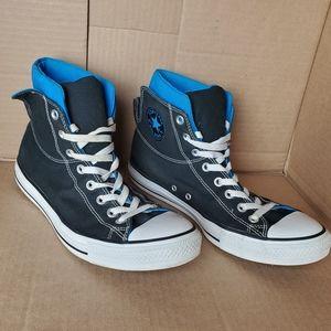 Converse Men's Chuck Taylor Blue Collar Black 1400